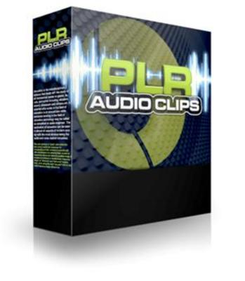 Product picture PLR Audio Clips