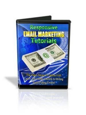 Product picture Responsive Email Marketing Tutorials